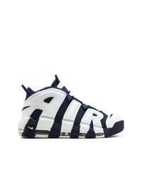 Темно-сине-белые кроссовки