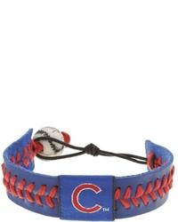 Темно-сине-красный браслет
