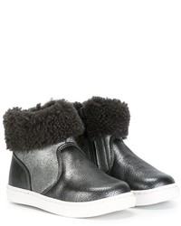 Детские темно-синие ботинки для девочке от Pépé
