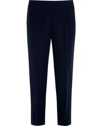 Женские темно-синие брюки-галифе от J.Crew