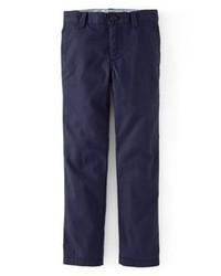 Темно-синие брюки чинос