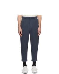 Темно-синие брюки чинос от AMI Alexandre Mattiussi