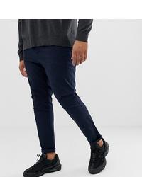 Темно-синие брюки чинос от ASOS DESIGN