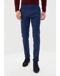 Темно-синие брюки чинос от BAWER