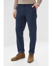 Темно-синие брюки чинос от Bazioni