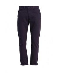Темно-синие брюки чинос от D-struct