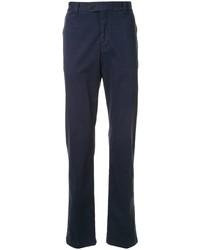 Темно-синие брюки чинос от Gieves & Hawkes