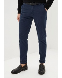 Темно-синие брюки чинос от Lindbergh