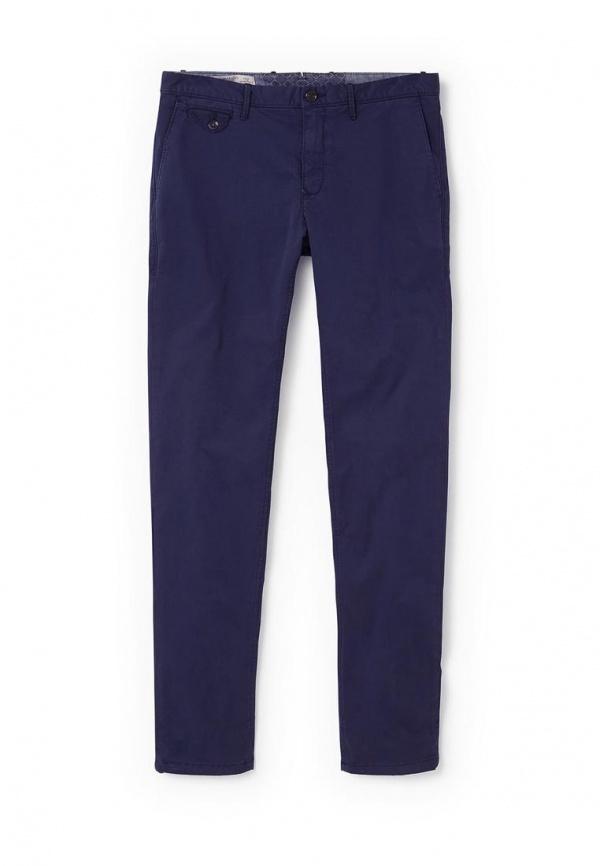 Темно-синие брюки чинос от Mango Man