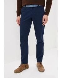 Темно-синие брюки чинос от Modis