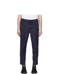 Темно-синие брюки чинос от Moncler