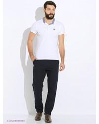 Мужские темно-синие брюки чинос от Oodji