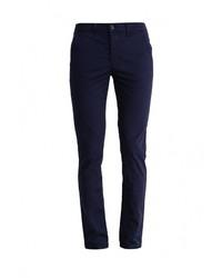Темно-синие брюки чинос от Topman