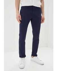 Темно-синие брюки чинос от Trussardi Jeans