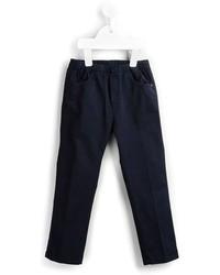 Детские темно-синие брюки для девочке от Il Gufo