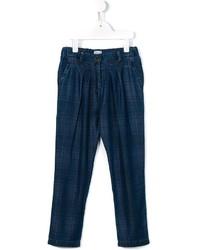 Детские темно-синие брюки для девочке от Morley