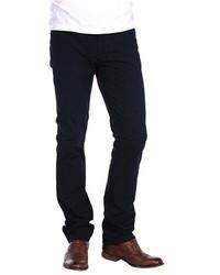 Темно-синие вельветовые джинсы