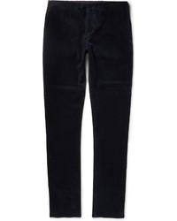 Мужские темно-синие вельветовые джинсы от Burberry