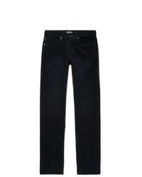 Мужские темно-синие вельветовые джинсы от Tom Ford
