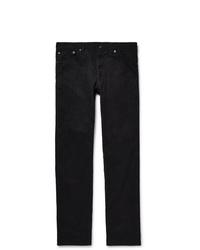 Мужские темно-синие вельветовые джинсы от VISVIM