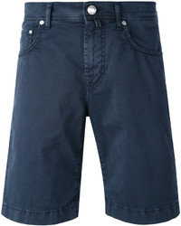 Мужские темно-синие джинсовые шорты от Jacob Cohen