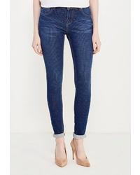 Темно-синие джинсы скинни от BLUE MONKEY