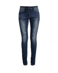 Женские темно-синие джинсы скинни от Emoi