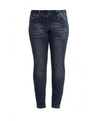 Темно-синие джинсы скинни от Emoi Size Plus