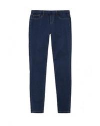 Темно-синие джинсы скинни от LOST INK
