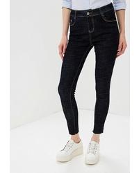 Темно-синие джинсы скинни от Marissimo