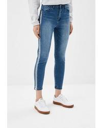 Темно-синие джинсы скинни от O'stin