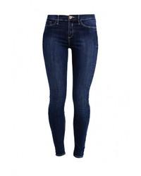 Женские темно-синие джинсы скинни от River Island