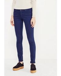Темно-синие джинсы скинни от Whitney