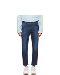 Мужские темно-синие джинсы от Acne Studios