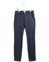 Детские темно-синие джинсы для девочке от Armani Junior