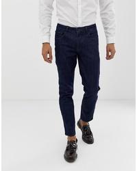 Мужские темно-синие джинсы от ASOS DESIGN