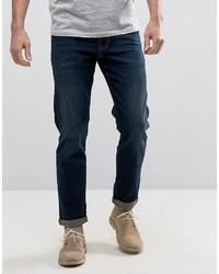 Мужские темно-синие джинсы от Asos