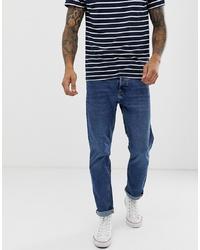 Мужские темно-синие джинсы от Bershka