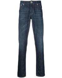 Мужские темно-синие джинсы от Brunello Cucinelli