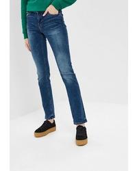 Женские темно-синие джинсы от Colin's