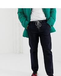 Мужские темно-синие джинсы от Crooked Tongues