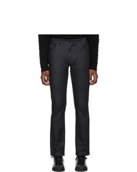 Мужские темно-синие джинсы от Fendi