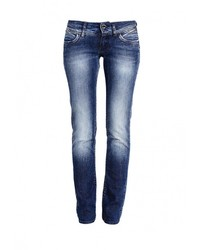 Женские темно-синие джинсы от Gas