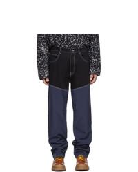 Мужские темно-синие джинсы от Jacquemus