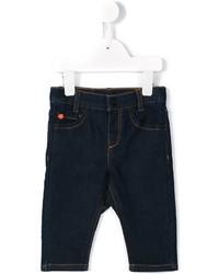 Детские темно-синие джинсы для девочке от Kenzo
