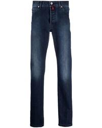 Мужские темно-синие джинсы от Kiton