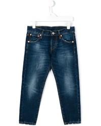 Детские темно-синие джинсы для мальчиков от Levi's