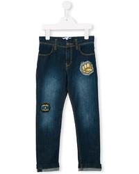 Детские темно-синие джинсы для мальчику от Little Marc Jacobs