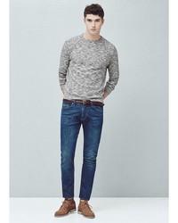 Мужские темно-синие джинсы от Mango Man
