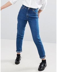 Женские темно-синие джинсы от Monki